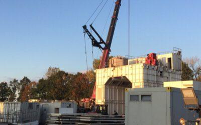 Neue Erdgasbohrung in Hoogstede kurz vor dem Start