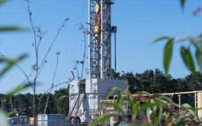 Rückbau in den Erdgasfeldern in Thüringen