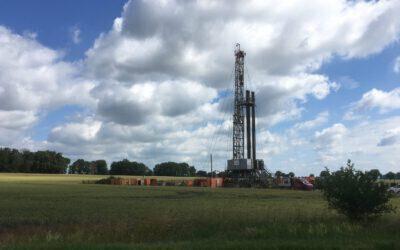 Verfüllung von Erdgasbohrungen im Altmark-Feld